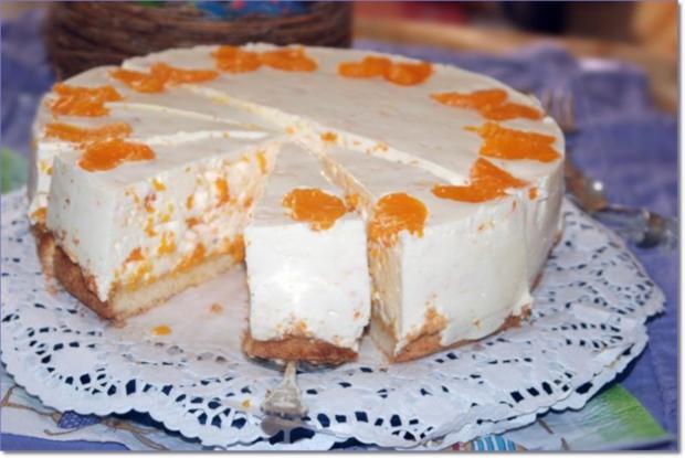 Käse - Sahne - Torte mit Mandarinen - Rezept - Bild Nr. 76