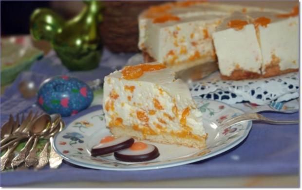 Käse - Sahne - Torte mit Mandarinen - Rezept - Bild Nr. 77