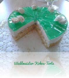 Waldmeister-Kokos-Torte - Rezept