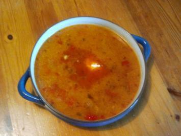 Gulaschsuppe mit Putenfleisch - Rezept
