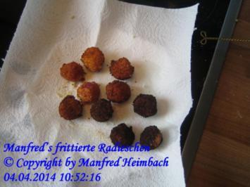 Gemüse – Manfred's frittierte Radieschen - Rezept