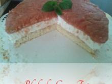 Rhabarber-Creme-Torte - Rezept
