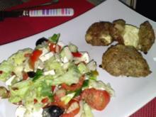 Türkische Köfte mit Fetakäse gefüllt - Rezept