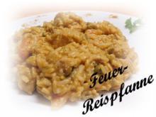 Sisserl's ~ Feuer-Reispfanne - Rezept