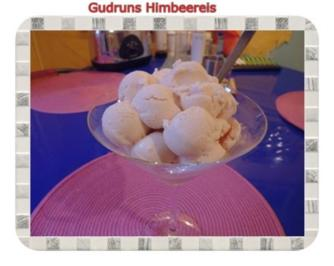 Eis: Himbeereis - Rezept