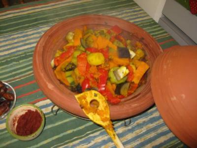 Tajine - Gemüse - Rezept