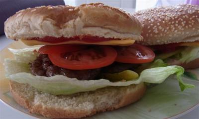 Rezept: Hamburger + 1x Vegetarisch