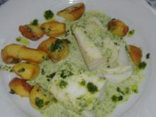 Bacalao mit grüner Sauce - Rezept