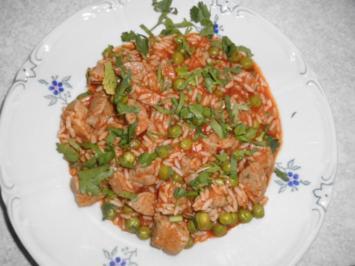 "Rezept: Reispfanne ""katalanisch"""