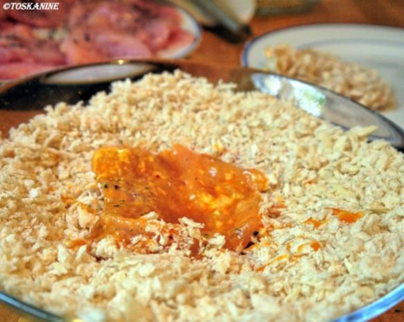 Hähnchen-Schnitzel Asia-Style mit Kräuter-Dip - Rezept - Bild Nr. 12