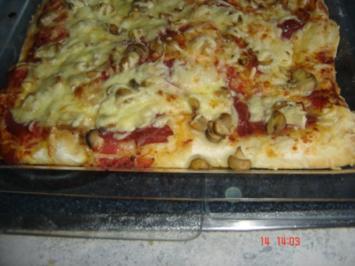 Rezept: Pizzateig aus dem BBK