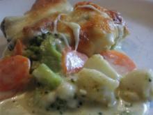 Broccoli - Möhren - Auflauf - Rezept