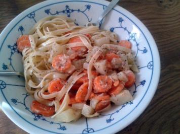 Gourmelinis Gemüsebavette mit Thunfisch - Rezept