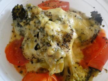 Überbackener Brokkoli, Resteessen - Rezept