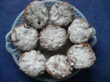 Kirsch - Marzipan - Muffins - Rezept