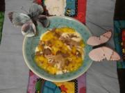 Schokotraum mit Mango-Chilisoße - Rezept