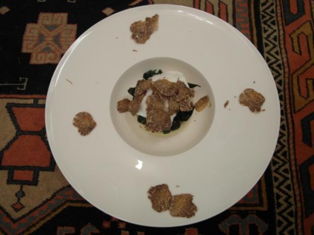 La surprise de truffel - Rezept