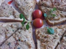 Warme Ofenbrot-Ecken mit frischer Thunfischbutter - Rezept