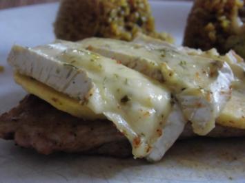 Überbackene Schnitzel mit Bulgur - Rezept