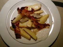 Ofengemüse die zweite .. Kartoffeln, Pastinaken, Topinambur - Rezept