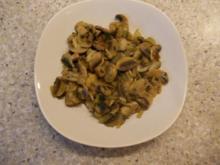 Knoblauch-Champignons - Rezept