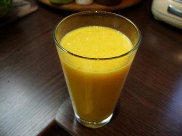 Rezept: Smoothie: Mango-Buttermilch