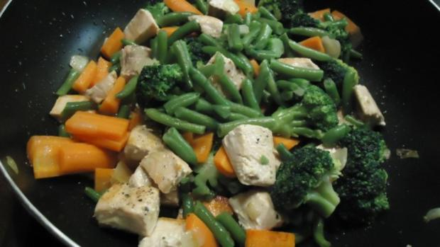 Wildlachs mit Gemüse - Rezept - Bild Nr. 6