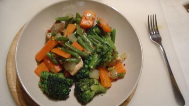 Wildlachs mit Gemüse - Rezept - Bild Nr. 7