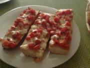 Tomaten-Mozzarella Baguettes - Rezept
