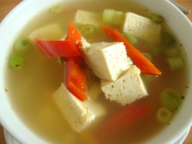 """Thailändische """"Pho-Suppe"""" mit Tofu und Pepp - Rezept - Bild Nr. 16"""