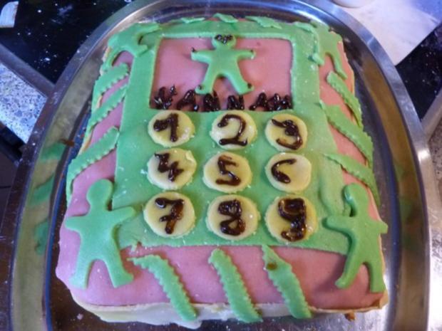 Kuchen: Marzipan-Schoko-Kuchen - Rezept - Bild Nr. 18