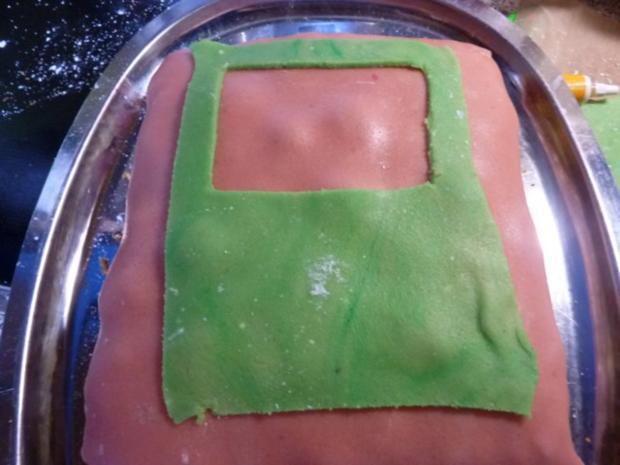 Kuchen: Marzipan-Schoko-Kuchen - Rezept - Bild Nr. 14