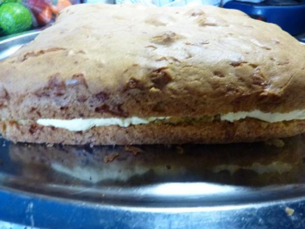 Kuchen: Marzipan-Schoko-Kuchen - Rezept - Bild Nr. 9