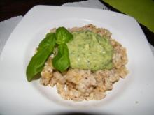 Avocado-Pesto - Rezept