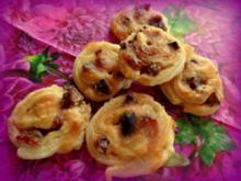Aprikosen-Erdnussmus-Blätterteig-Plätzchen - Rezept