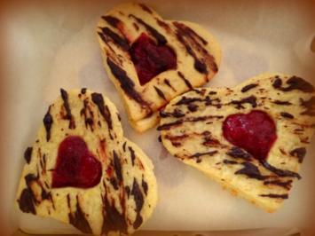 Große Marmeladen-Plätzchen - Rezept