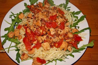 Linguine al Salmone - Rezept
