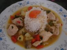Hähnchenbrustfilet-Curry - Rezept