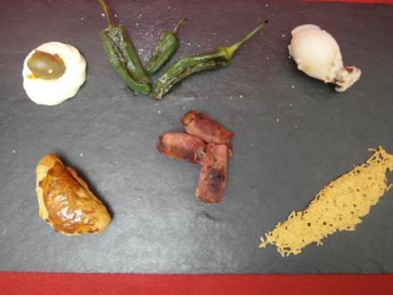 Bunte Variationen spanischer Tapas - Rezept