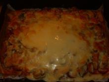Cabanossi Pizza mit Käsefondue - Rezept