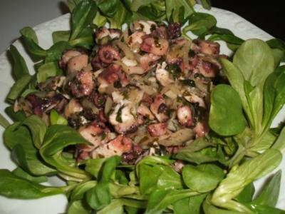 Fisch: Insalata di Pulpo - Rezept