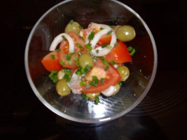 tomaten-olivensalat - Rezept