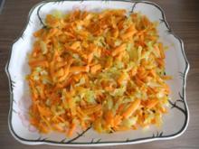 Vegan : Zwiebel - Karotten - Beilage - Rezept