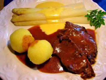 Rezept: einfacher Sauerbraten