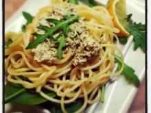 Spaghetti mit Bärlauch-Tofu-Creme - Rezept - Bild Nr. 2