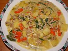 Kartoffeleintopf mit Hackfleisch - Rezept