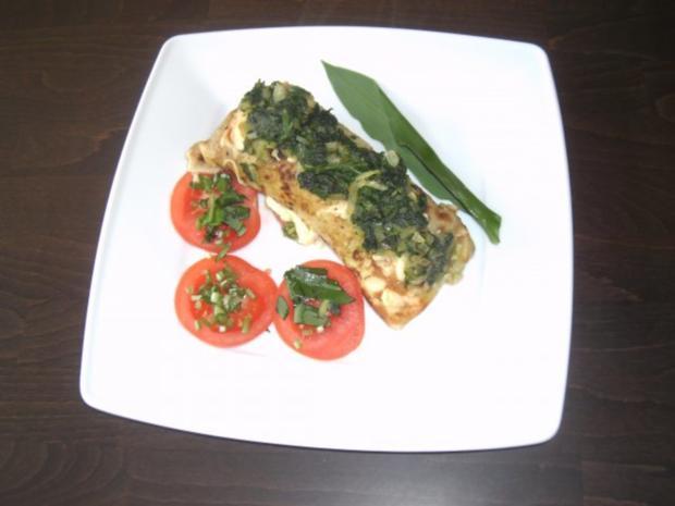 Tintenfisch in Pfannkuchen - Rezept - Bild Nr. 2