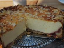 Quarkkuchen mit Mandelkruste - Rezept