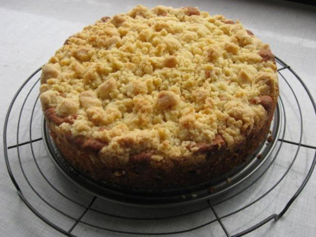 Pfirsich Streusel Kuchen