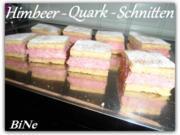 BiNe` S HIMBEER - QUARK - SCHNITTEN - Rezept - Bild Nr. 2